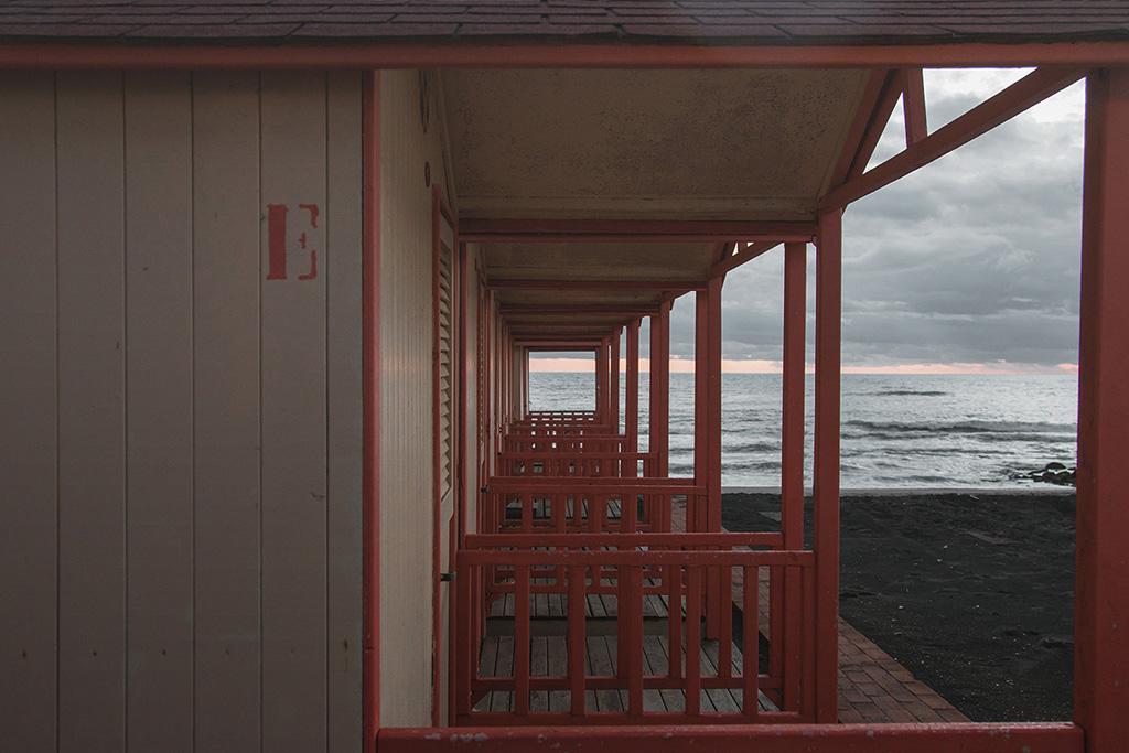 ostia; stabilimento balneare; lazio; kursaal; paesaggio; inverno; www.sofiapodesta.com ; roma ; mare romano