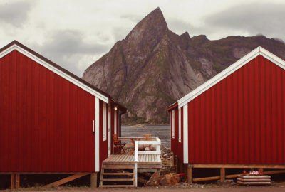 Lofoten through cabins