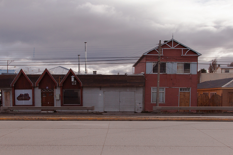 punta arenas; study of a town on 53rd parallel south; sofia podestà; chile; patagonia; magellano; torres del paine