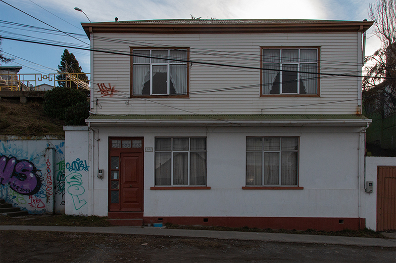 punta arenas study of a town on 53rd parallel south