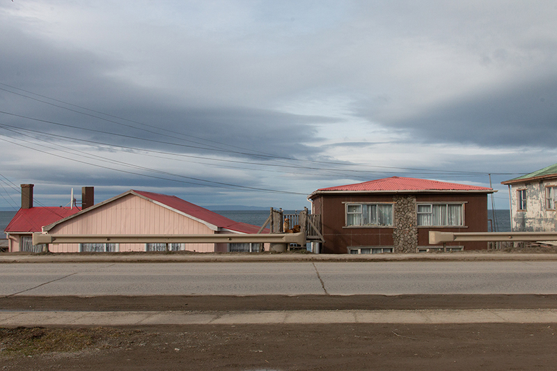 study of a town on 53rd parallel south; Sofia Podestà; punta arenas; patagonia