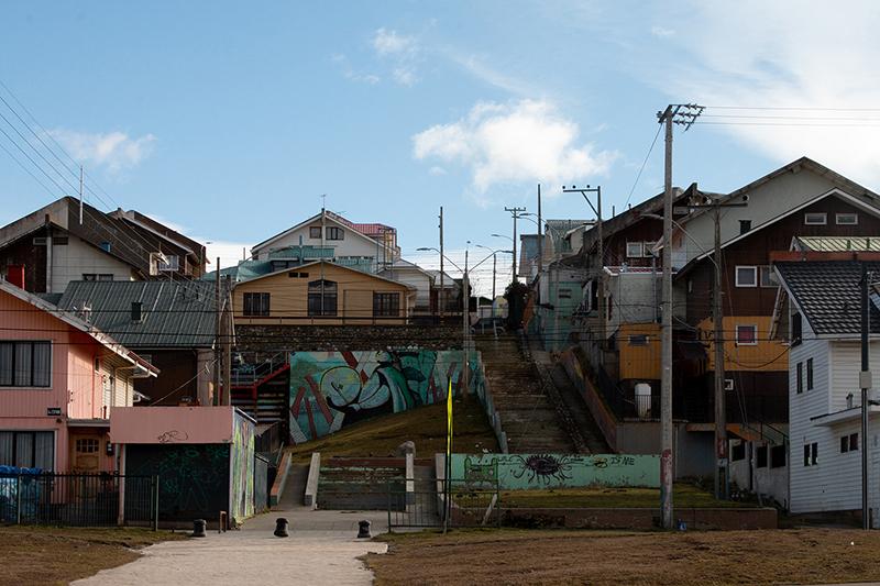 study of a town on 53rd parallel south; Punta Arenas; chile; sofia podestà; sofiapodesta; podestasofia; sofia; podestà; cabins; patagonia; magellano;