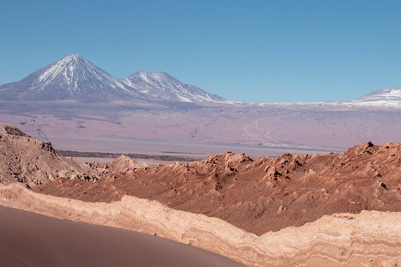 deserto dell'atacama; paesaggio desertico; deserto; chile; walking along prospect