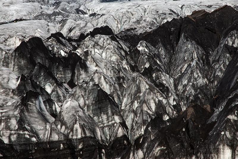 "Sofia Podestà; ""lingua glaciale islanda"" Solheimajokull Glacier"